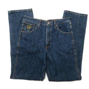 Cinch Jeans Mens 32 x 34 Blue Cotton Western